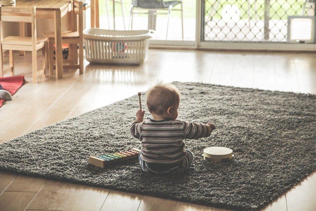 instrumentos de percusion para niños
