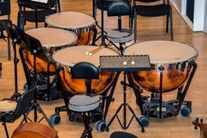 timbales sinfónicos de percusión