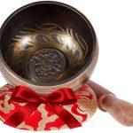 Cuenco Tibetano Cojin y Baqueta
